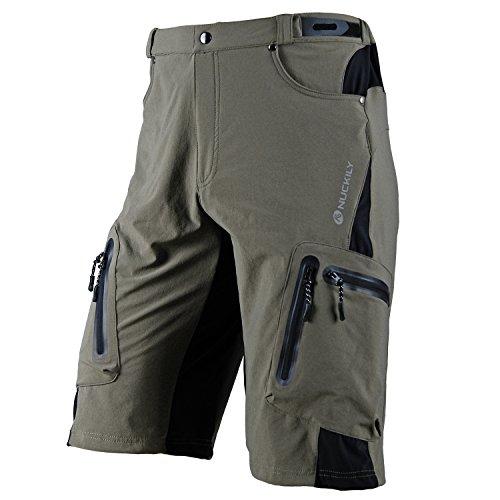 NUCKILY Men's Cycling Sportwear Duarble MTB Shorts XXX-Large