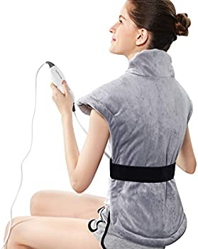 Revix Back Neck and Shoulders Pain Relief Electric Heat Pads