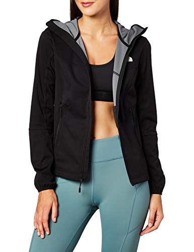 THE NORTH FACE Damen Softshell W Hikesteller Softsh, Tnf Black, L, 3K2L