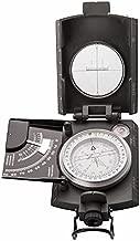 Schutzh/ülle Berg /& Wald - Pr/äzision und Zuverl/ässigkeit Spiegel integrierte Lampe Graduierung: Grad Milit/är Kompass 2 in 1 Schnell einsetzbar auf Karte und Zielscheibe Profi Wanderkompass