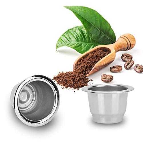Taza de cápsula de café de Acero Inoxidable, Taza de cáps