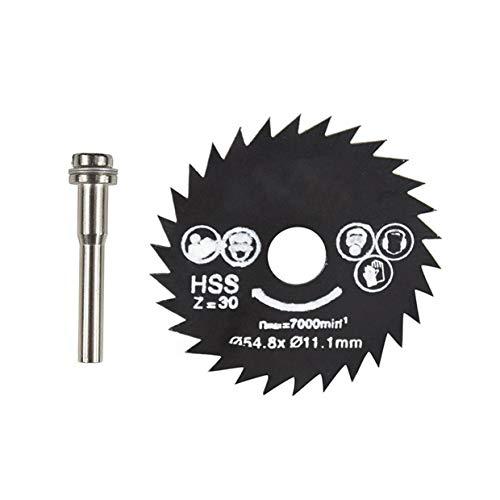 Herramienta rotativa de hoja de sierra circular YUIO® HSS Mini discos de...