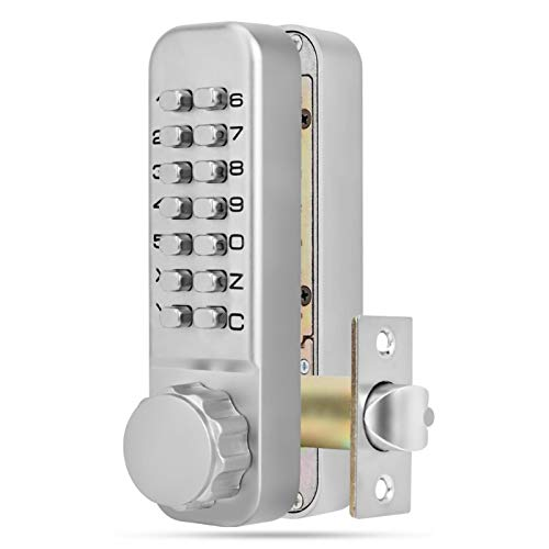 Digits MiNi Mechanical Code Lock,Door Password Security Coded Lock,Motorized Lock,High Security,Traditional Style,for Office,Factory, Hotel,School,Restaurant,Etc