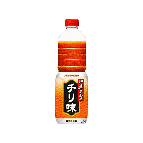 「味の素KK中華あわせ」チリ味 1Lボトル×6