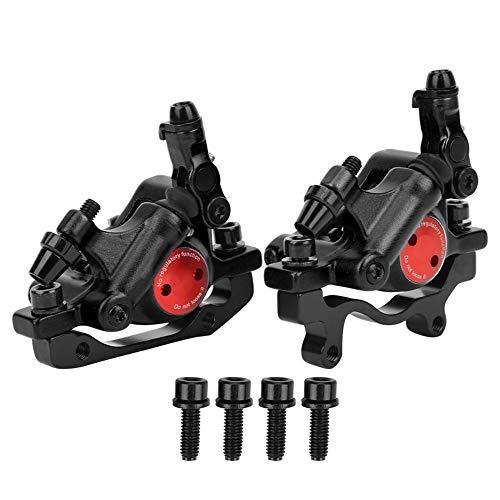 Keenso Hydraulische Scheibenbremse aus Aluminiumlegierung Bike Hydraulische Scheibenbremse HB-100 für Mountain Road-Fahrräder(Schwarz)