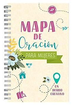 Mapa de oración para mujeres  Un diario creativo  Spanish Edition