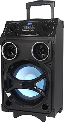 Batería de Sistema PA móvil Roadstar DJ-880BT, Bluetooth, MP3, USB, 1micrófono,...