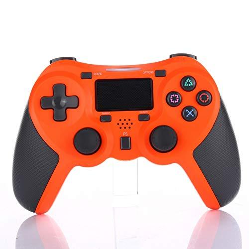 Maserfaliw Manette de Jeu Bluetooth avec télécommande sans Fil pour PS4 Orange