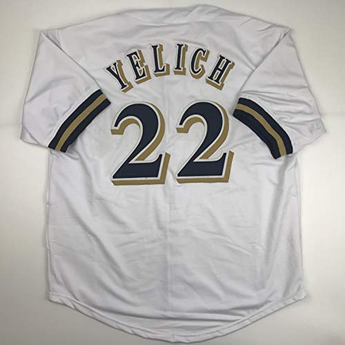 Unsigned Christian Yelich Milwaukee White Custom Stitched Baseball Jersey Size Men's XL New No Brands/Logos
