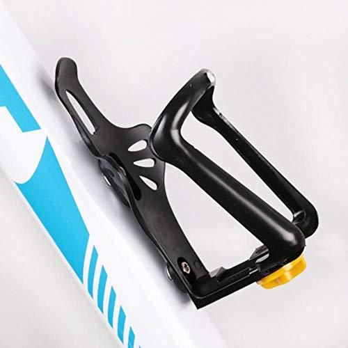 WOOAI Porte-Bouteille de vélo de vélo de Montagne de Bicyclette de Support de Bouteille d'eau de vélo léger de Support de vélo de Montagne Tenant 50g, Noir, Chine