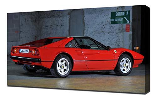 1982-Ferrari-308-GTS-V3-1080 - Lienzo decorativo para pared, lienzo