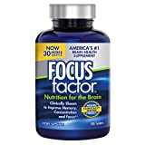 Focus Factor Clinically Proven Brain Booster 180CT