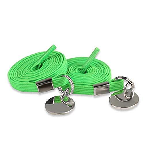 Bontand Elastische No Tie Schnürsenkel Stretch Nylon Einhändig Schnürsenkel Shoestrings Mit Metall-Tipps Für Kinder Erwachsene
