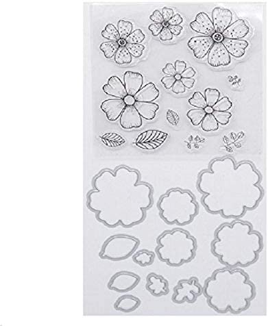Welcome Max 86% OFF to Joyful Home Flower Metal Topics on TV Cutting Dies Stamp Stencils