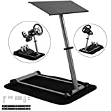 Mophorn Racing Steering Wheel Stand 360 Degree Stepless Adjustable for Logitech G25 G27