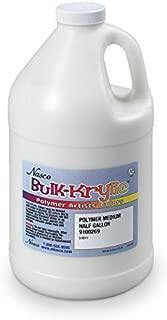 Nasco 9100269 Bulk-Krylic Polymer Medium Acrylic Paint, 1/2 gal