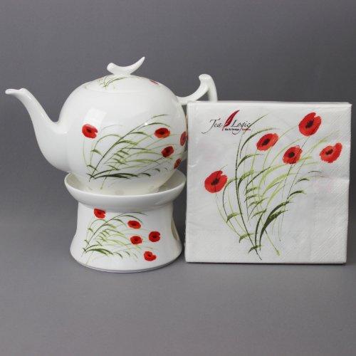 TeaLogic Caprice Teekanne 1l mit Stövchen