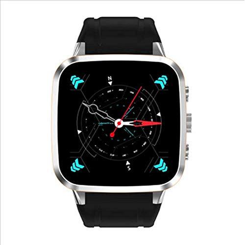 JIAJBG Fitness Tracker Impermeable Deporte Smartwatch Smart Watch Teléfono Móvil, Monitoreo de Ritmo Cardíaco Wifi Internet Gps Posicionamiento 3G Tarjeta Call Sport Fitness Tracker