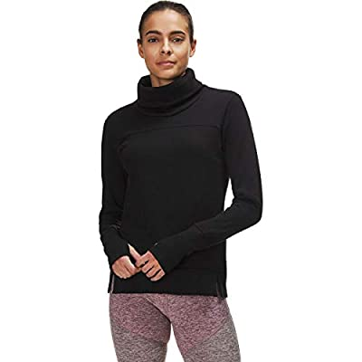 Alo Yoga Women's Haze Long Sleeve Top, Black, M