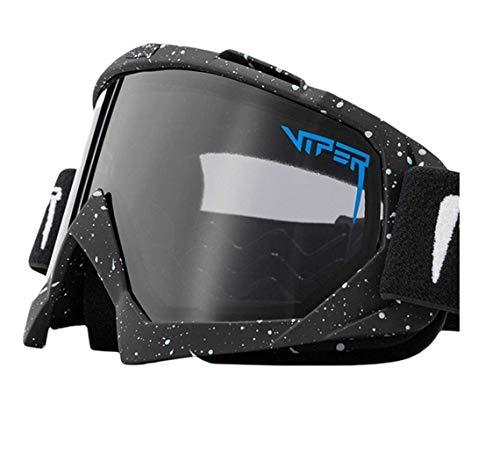 Pit Viper Gafas de sol polarizadas de doble ancho con espejo azul lente tr90 marco Uv400 protección ciclismo deportes gafas de sol