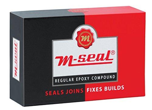 Pidilite M-SEAL REGULAR EPOXY COMPOUND 1 x 25g - Seals - Joins - Fixes - Builds