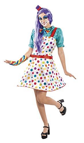 Disfraz Payasa Amelie Mujer M-L
