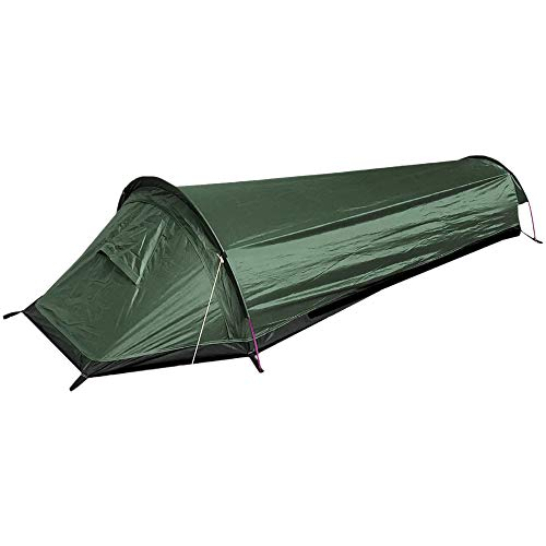 Lixada Biwaksäcke Trekkingzelt Campingzelt, Camping Schlafsack Zelt Einzelperson Zelt, Wasserdicht Leichte | 220 x 90 x 50 cm(690 g), für Outdoor-Camping Wandern Survival (Armeegrün)