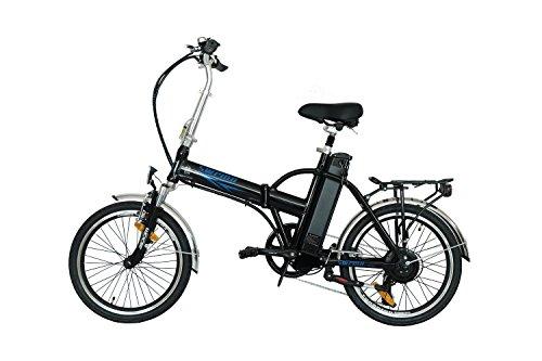 20 Zoll Swemo Alu Klapp E -Bike / Pedelec Sw 200 Neu (Schwarz)
