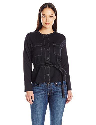 Pendleton Women's Petite Size 9 Dorset Jacket, Black Ultra Stretch Worsted, 6