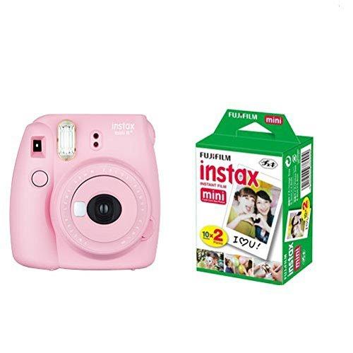 FUJIFILM インスタントカメラ instax mini 8+(プラス) フイルム20枚セット