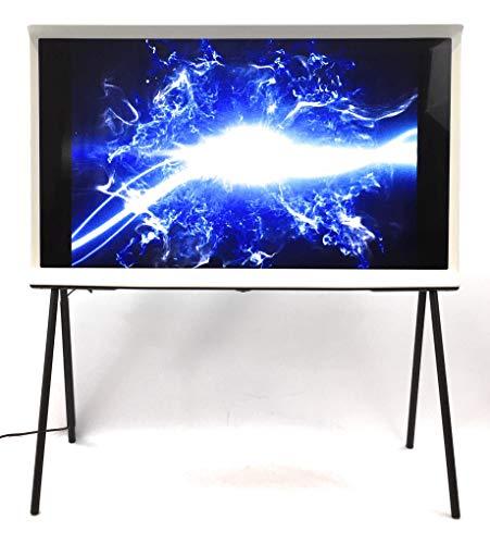 Samsung LS01R The Serif 108 cm (43 Zoll) QLED Lifestyle Fernseher (Serif Ambient Mode, Ultra HD, HDR, Smart TV, Keramikweiß) [Modelljahr 2019]