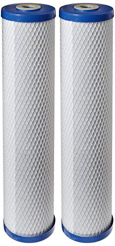 Pentek EP-20BB Carbon Block Filter Cartridge, 20' x 4-5/8', 5 Microns (Pack of 2)