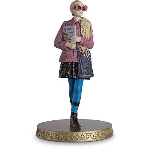 Hero Collector Wizarding World Figurine Collection | Luna Lovegood with Magazine Issue 21 by Eaglemoss image