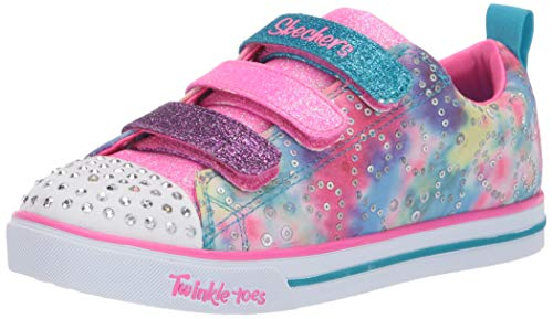 Skechers Girls' Sparkle LITE Trainers, Multicolour (Multi Mlt), 11.5 (29 EU)