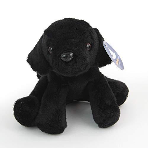 Entdeckerwelt Kleiner, sitzender Labrador, schwarz (H. ca. 12 cm)