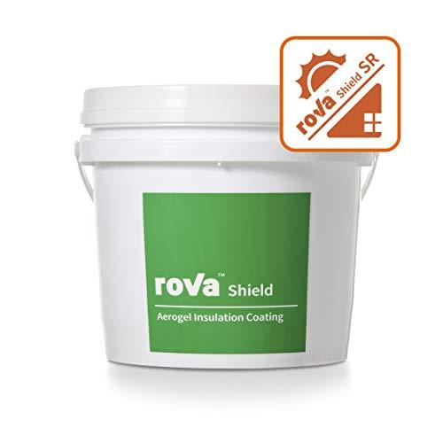 RoVa Shield SR - Revestimiento de aislamiento de aerogel reflectante solar (4 L)