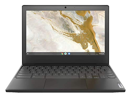 Lenovo IdeaPad 3 Chromebook, Display 11.6  HD TN, Processore Intel Celeron N4000, 64 GB eMMC, RAM 4 GB, Chrome OS, Onyx Black