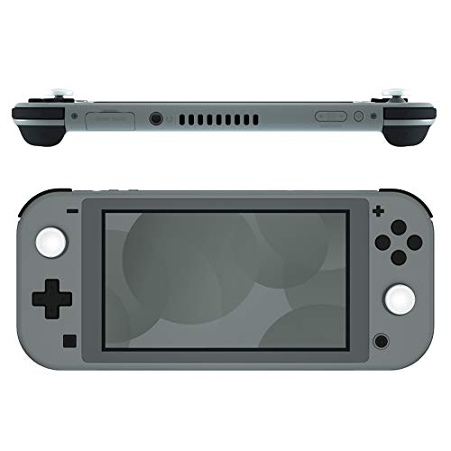 eXtremeRate Black Replacement ABXY Home Capture Plus Minus Keys Dpad L R ZL ZR Trigger for Nintendo Switch Lite, Full Set Buttons Repair Kits with Tools for Nintendo Switch Lite