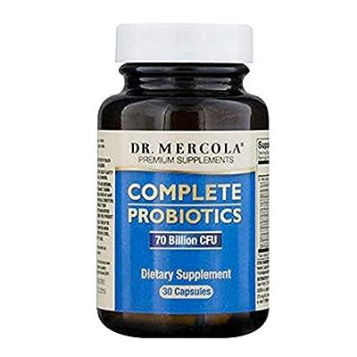 Dr. Mercola, Complete Probiotics, 10 Strains, 60 Capsules by Dr. Mercola