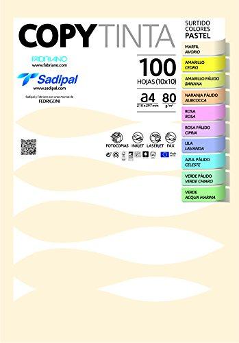 Sadipal 11302.0 - Pack de 100 hojas de papel, A4