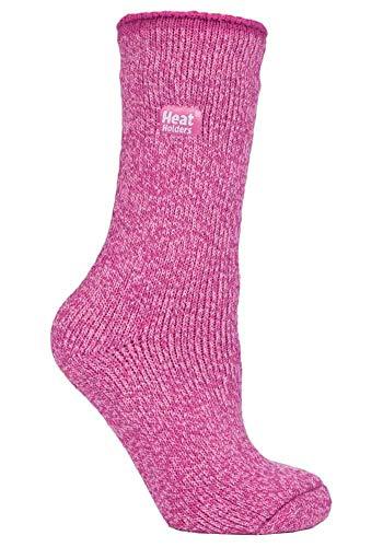 HEAT HOLDERS - Damen Winter Warm Thermo Merino Wollsocken (37/42, Pink (Merino))