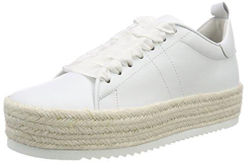 Kennel und Schmenger Damen Hill Low Top Sneaker, Weiß (Bianco Bastsohle Weiß), 39 EU