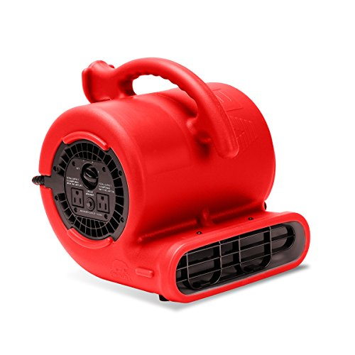 Our #5 Pick is the B-Air VP-25 1/4HP Blower Floor Fan (900 CFM)