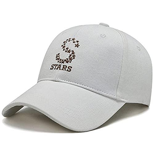 Kuletieas Gorras De Hombre S Star Bordado Snapback Cap Clásico Negro Off White Celebrity Hat Mujeres Gorra de béisbol Summer Shade Caps Hombres Gorras