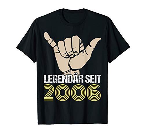 14. Geburtstag Junge Mädchen 14 Jahre Jahrgang 2006 Geschenk T-Shirt
