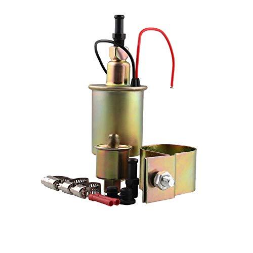 ZqiroLt Auto-Kraftstoffpumpe, Universal, Niederdruckbenzin Diesel Electric E8012S 12V 5-9 PSI Copper