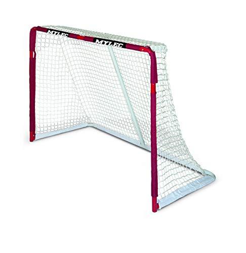 Mylec Pro Style Steel Hockey Goal, Red
