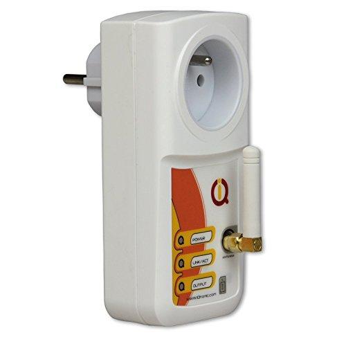 IQSocket mobile IQTronic - Toma de corriente manejable mediante GSM y Bluetooth, con detección de corte de corriente