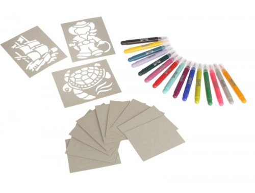 RenArt 20-Pen + Stencils Set