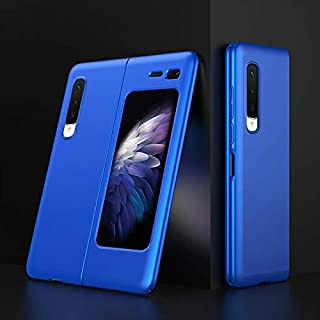 Galaxy FOLD Case Cover Slim New Phone Cases For Galaxy Fold 360 Full Protective Cases For Samsung (Blue)